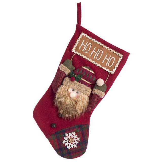 Ho Ho Santa Stocking