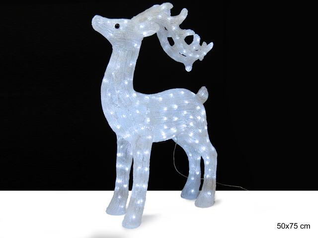 Large Illuminated 220v Reindeer