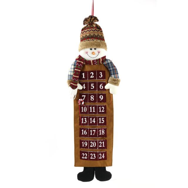 Hanging Snowman Advent Calendar