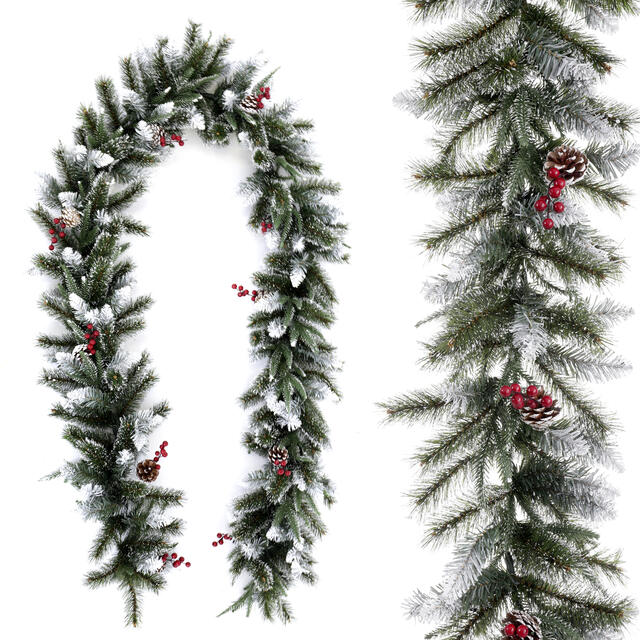 9 x 12' Frosted Berry Garland
