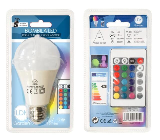 LED Multi Colour Bulb