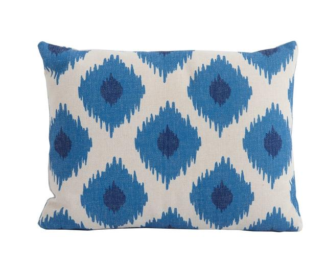 Bramblecrest Scatter Cushions Blue Lattice Rectangular Scatter Cushion