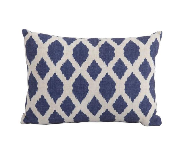 Bramblecrest Scatter Cushions Blue Trellis Rectangular Scatter Cushion